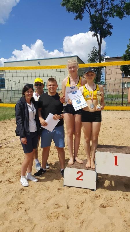 Komunikat z Mistrzostw Województwa Podlaskiego w Siatkówce Plażowej Kadetek