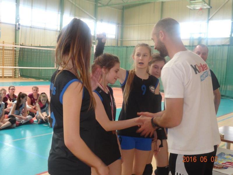 Finał wojewódzki czwórek Kinder Sport