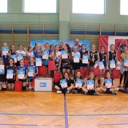 Finał Turnieju Mini siatkówki Kinder+Sport woj.podlaskiego w kategorii