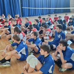 Komunikat końcowy pierwszego Turnieju Kinder Sport czwórki chłopców