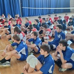 Komunikat końcowy Turnieju Kinder Sport czwórki chłopców