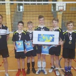 Finał wojewódzki Kinder Sport czwórek chłopców