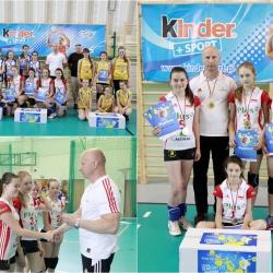 Finał Wojewódzki Kinder +Sport trójki dziewcząt