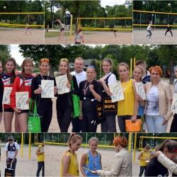 Mistrzostwa Województwa Podlaskiego w siatkówce plażowej juniorek